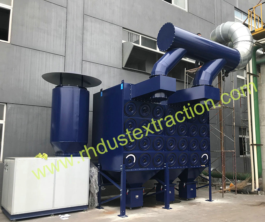 Downflow dust collector 4-56