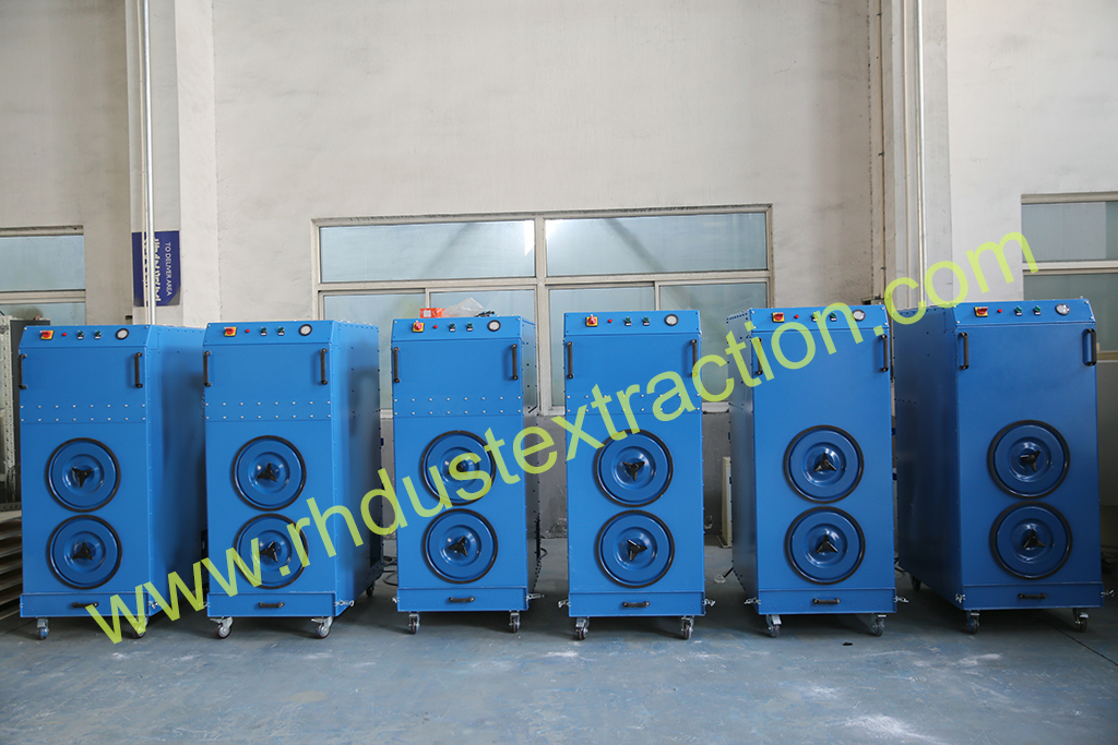 Mobile Dust Collector for welding fumes and other application